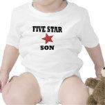 HIJO de cinco estrellas Traje De Bebé