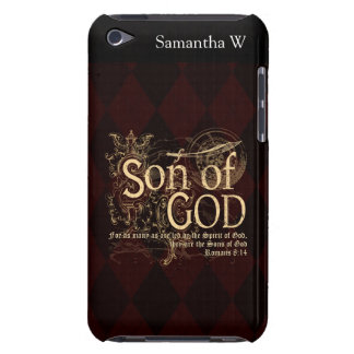 Hijo de dios, cristiano del 8:14 de los romanos iPod touch protectores