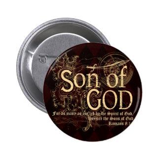 Hijo de dios, cristiano del 8:14 de los romanos pins