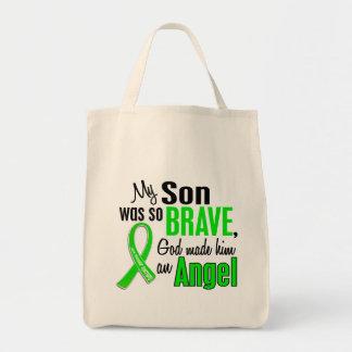 Hijo de la distrofia muscular del ángel 1 bolsa de mano