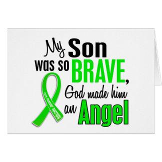 Hijo de la distrofia muscular del ángel 1 tarjeta