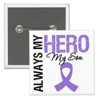 Hijo de la linfoma de Hodgkin siempre mi héroe Pin