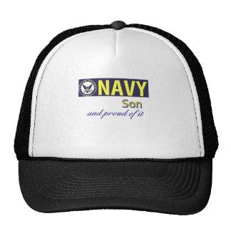Hijo de la marina de guerra gorras de camionero