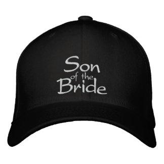 Hijo de la novia bordada casando el casquillo gorras de beisbol bordadas