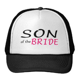 Hijo de la novia gorras de camionero