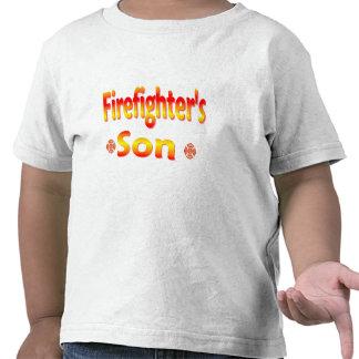 hijo de los bomberos camiseta