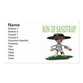 Hijo de un Sandtrap Tarjetas De Visita