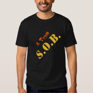 Hijo de una camiseta de la SACUDIDA II Remera