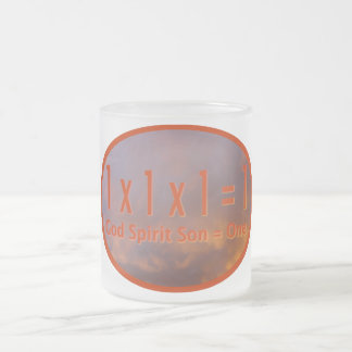 hijo del alcohol de 1 de x 1 de x 1 de = 1/dios = taza de café esmerilada