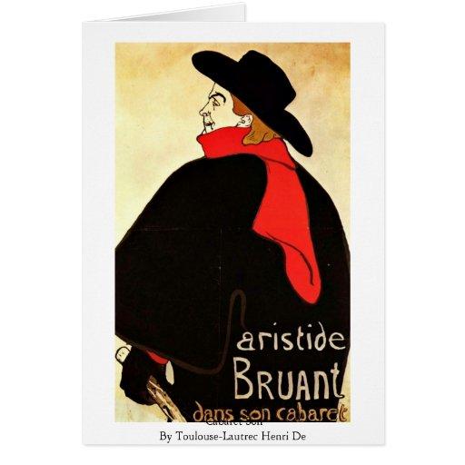 Hijo del cabaret por Toulouse-Lautrec Enrique De Tarjeton