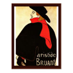 Hijo del cabaret por Toulouse-Lautrec Enrique De Tarjeta Postal