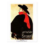 Hijo del cabaret por Toulouse-Lautrec Enrique De Postales