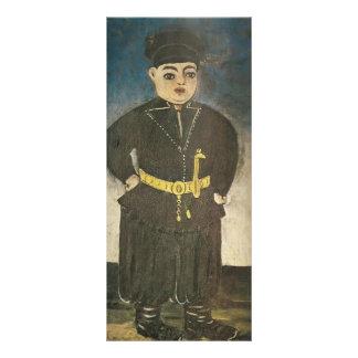 Hijo del kintos ricos de Niko Pirosmani Lona Publicitaria
