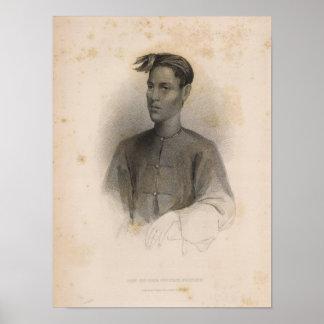 Hijo del sultán, Sooloo, Filipinas Impresiones