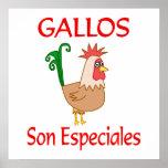 Hijo Especiales de Gallos Posters
