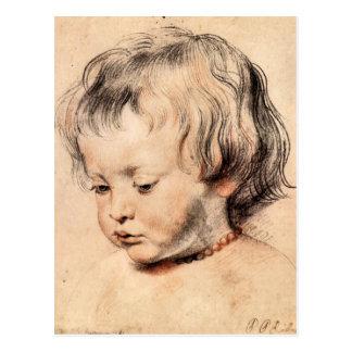 Hijo Nicholas de Rubens de Paul Rubens Tarjetas Postales