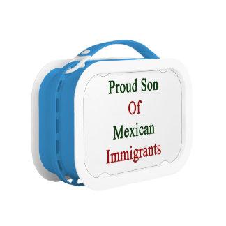 Hijo orgulloso de inmigrantes mexicanos