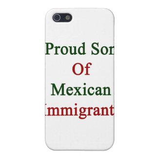 Hijo orgulloso de inmigrantes mexicanos iPhone 5 fundas