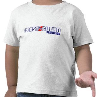 Hijo orgulloso del guardacostas camiseta