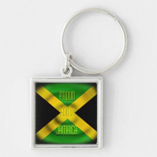 Hijo orgulloso del llavero de Jamaica