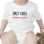Hijo único 1 camisetas