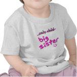 Hijo único/hermana grande camiseta