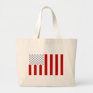 Hijos civiles de la bandera de Estados Unidos de l Bolsa Tela Grande