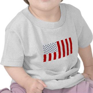 Hijos civiles de la bandera de Estados Unidos de l Camiseta