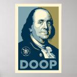 """Hijos de Ben - """"Ben poster de Franklin Doop"""""""