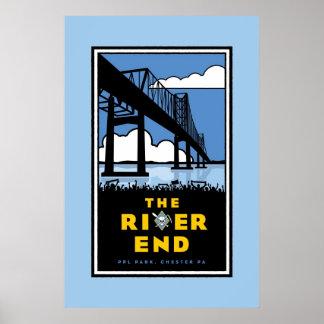 """Hijos de Ben - poster """"del extremo del río"""""""