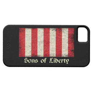 Hijos de la bandera de la libertad funda para iPhone 5 barely there
