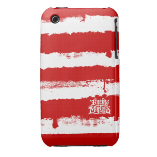 Hijos de la caja de las rayas del rebelde de la iPhone 3 Case-Mate carcasa
