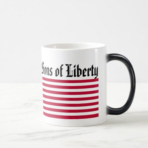 Hijos de la libertad taza de café