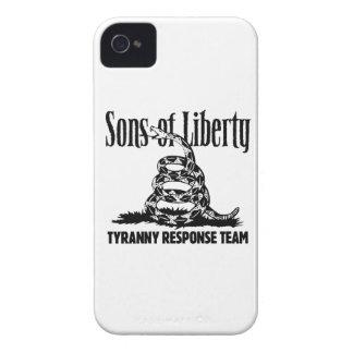 Hijos del caso del iPhone de la libertad iPhone 4 Case-Mate Carcasas