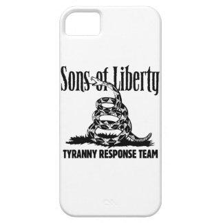 Hijos del caso del iPhone de la libertad iPhone 5 Carcasa