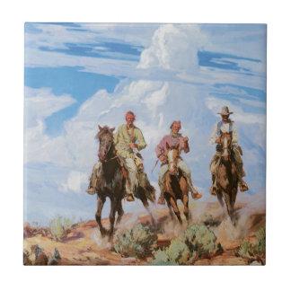Hijos del desierto teja  ceramica