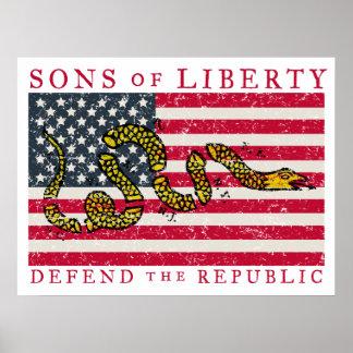 Hijos del poster de la libertad póster