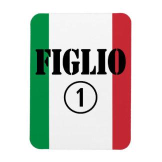 Hijos italianos: Uno de Figlio Numero Iman De Vinilo