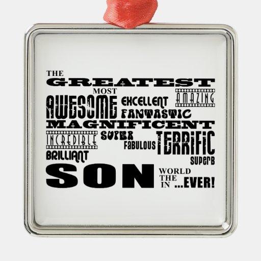 Hijos modernos frescos de la diversión: El hijo Ornamento De Navidad