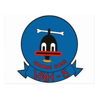 Hijos salvajes VAH-5 Postal