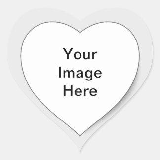 """Hike 4 Charity"" Heart Sticker"