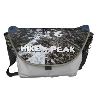 Hike a Peak Messenger Bag