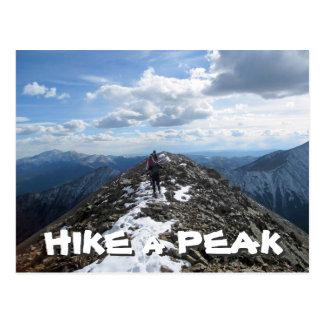 Hike a Peak Post Card