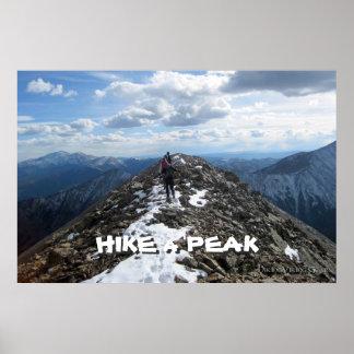 Hike a Peak Print