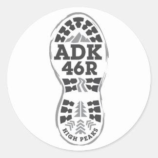 Hike ADK Classic Round Sticker