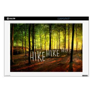 Hike Hike Hike Laptop Decal