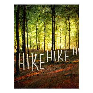 Hike Hike Hike Letterhead