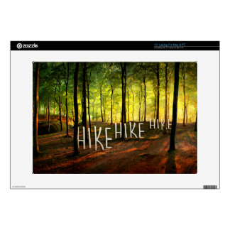 Hike Hike Hike Skins For Laptops