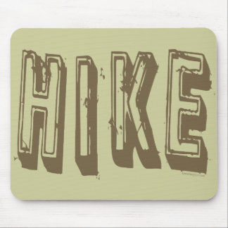 Hike, Hiker, Hiking Mouse Pad