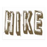 Hike, Hiker, Hiking Post Cards